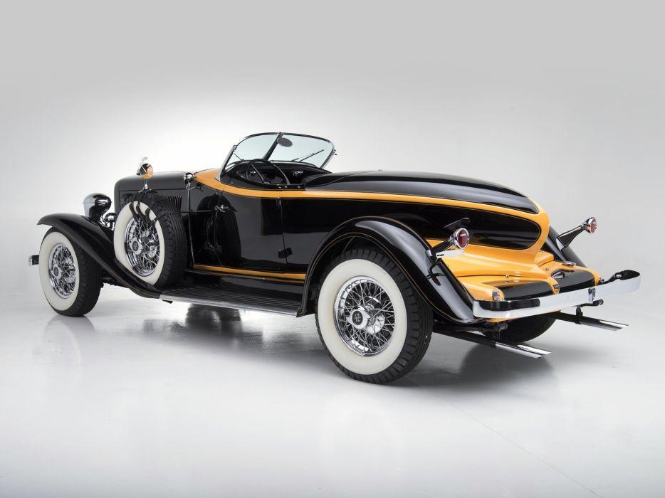 1932 Auburn V12 160A Speedster retro     g wallpaper