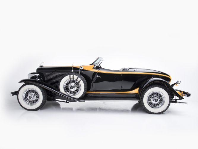 1932 Auburn V12 160A Speedster retro t wallpaper