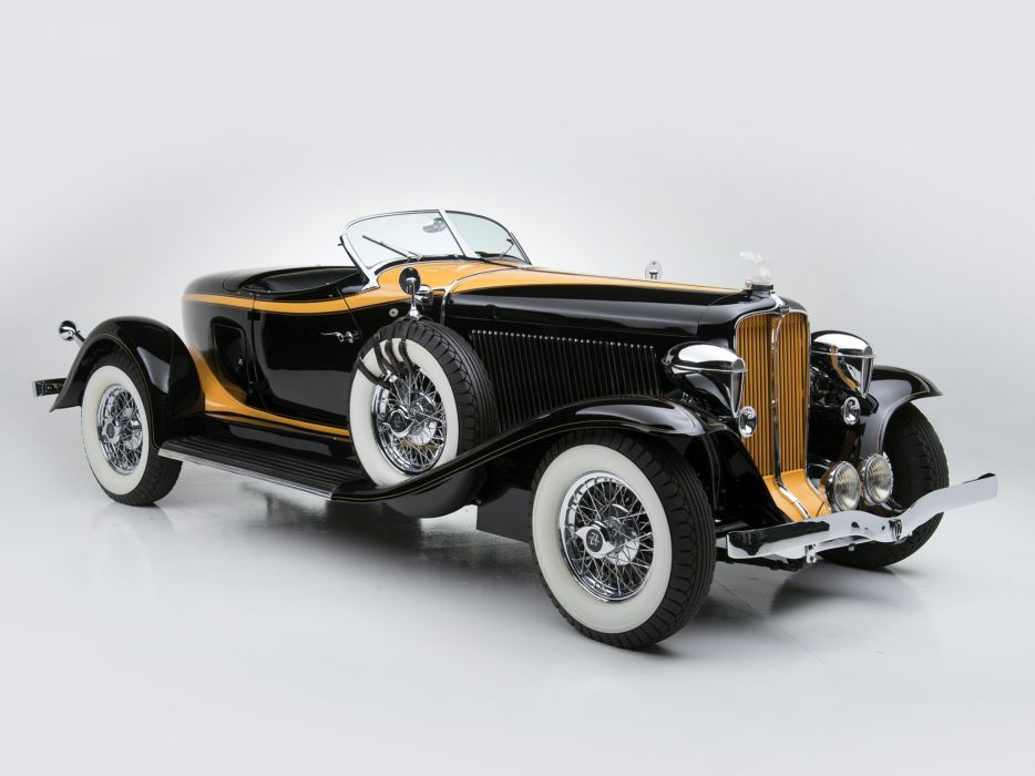 1932 Auburn V12 160A Speedster retro v wallpaper