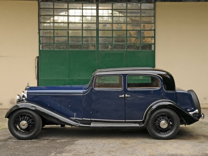 1934 Delage D8-15 Pillarless Saloon luxury retro g wallpaper