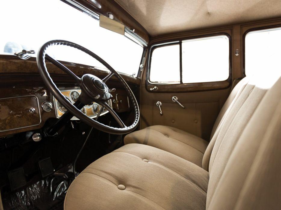 1934 Packard Super Eight Club Sedan (1104-756) retro luxury interior     g wallpaper