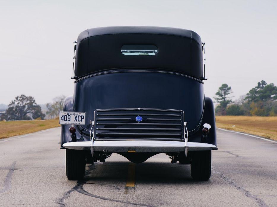 1935 Lincoln Model-K Non-Collapsible Cabriolet Brunn (301-304-B) luxury retro  eq wallpaper