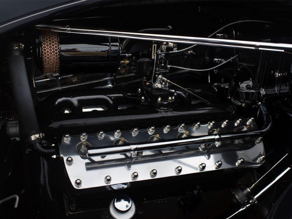 1935 Lincoln Model-K Non-Collapsible Cabriolet Brunn (301-304-B) luxury retro engine    g wallpaper