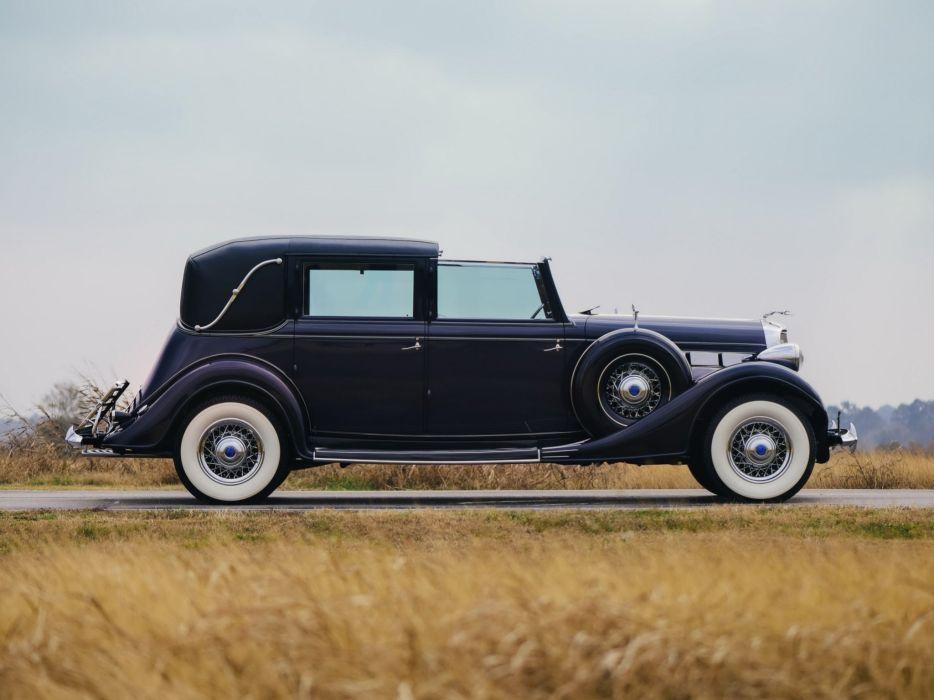 1935 Lincoln Model-K Non-Collapsible Cabriolet Brunn (301-304-B) luxury retro  e wallpaper