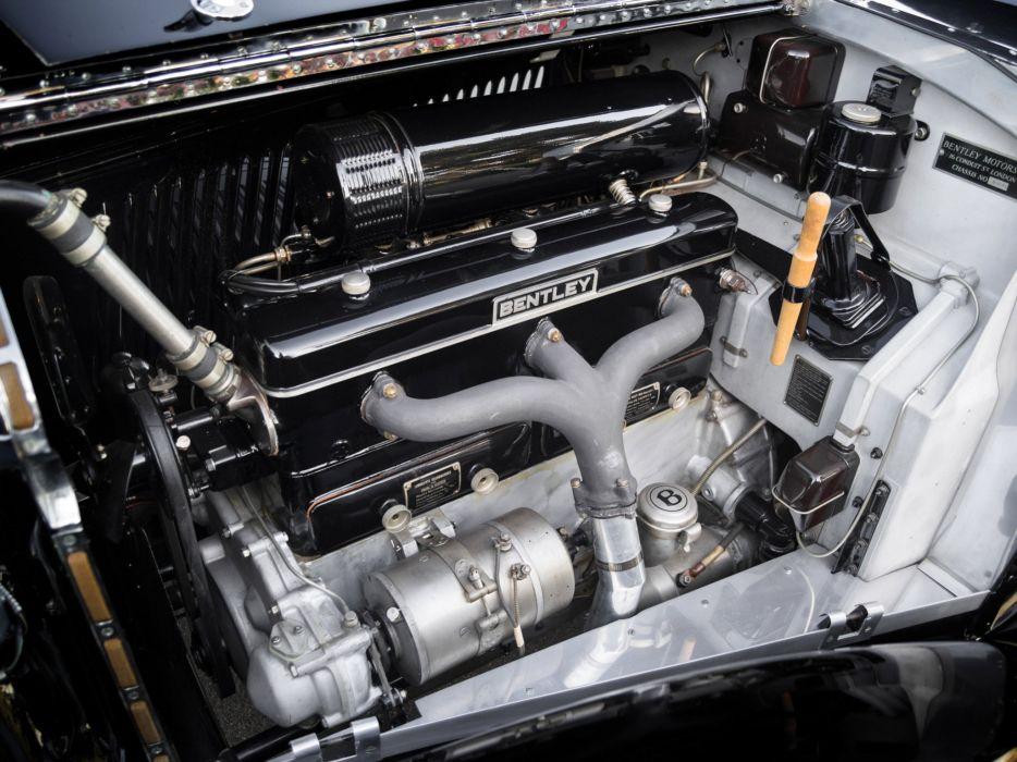 1936 Bentley Sedanca Coupe Windovers luxury retro engine     g wallpaper