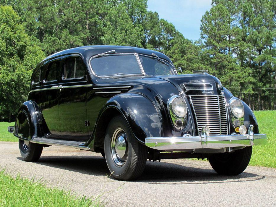 1937 Chrysler Airflow Touring Sedan (C-17) retro      j wallpaper