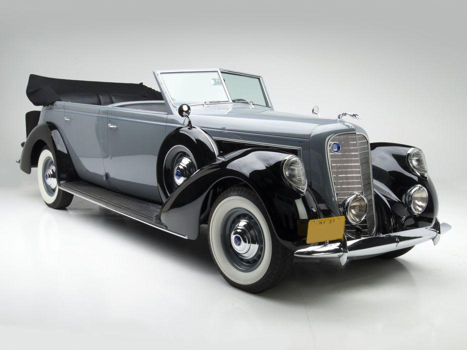 1937 Lincoln Model-K 7-passenger Touring Willoughby luxury retro     f wallpaper