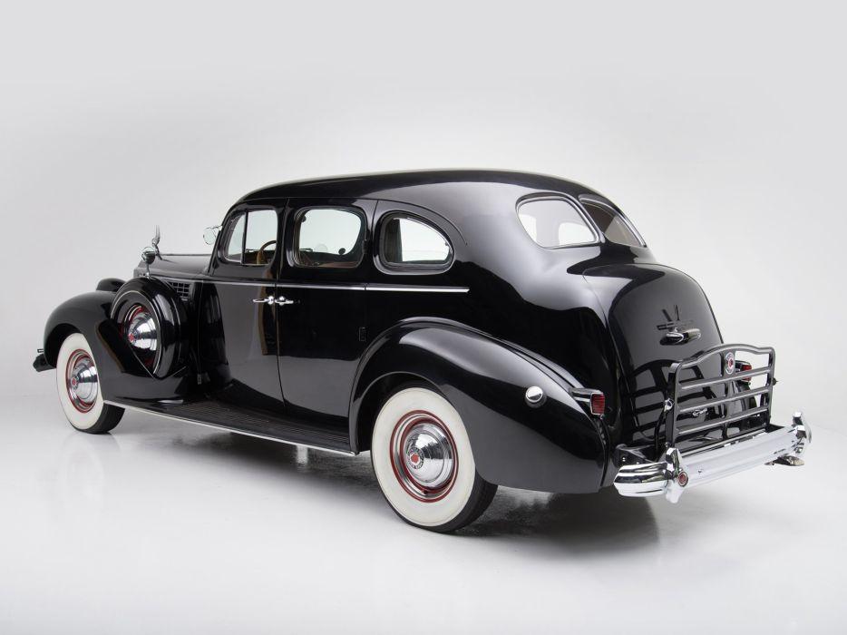 1939 Packard Super Eight Touring Sedan (1703-1272) luxury retro  r wallpaper