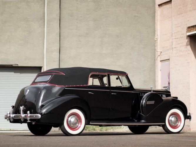 1940 Packard 120 Convertible Sedan (1801-1397) retro luxury d wallpaper