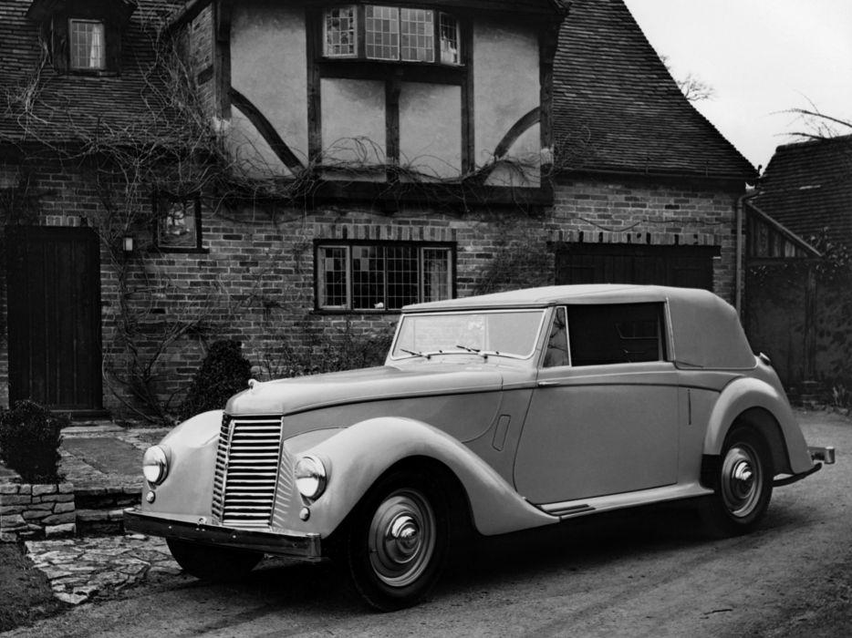 1946 Armstrong Siddeley Hurricane retro  g wallpaper