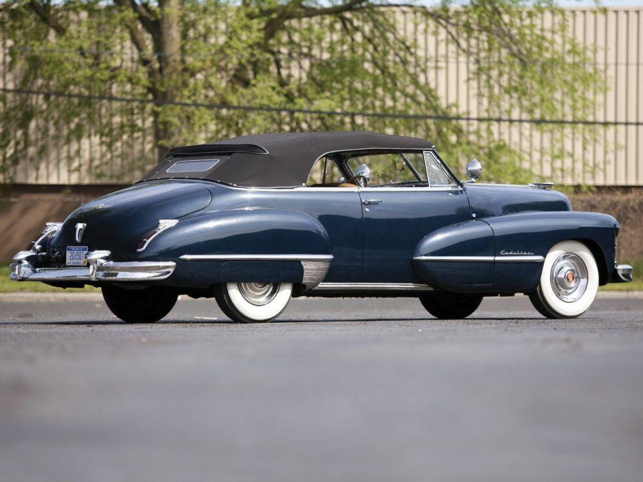 1947 Cadillac Sixty Two Convertible 6267 retro luxury  gf wallpaper
