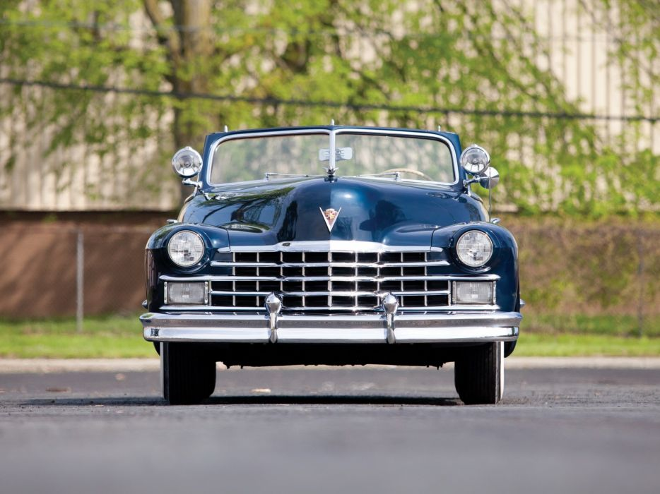 1947 Cadillac Sixty Two Convertible 6267 retro luxury g wallpaper