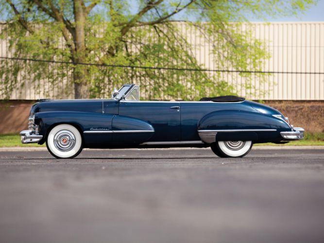1947 Cadillac Sixty Two Convertible 6267 retro luxury j wallpaper