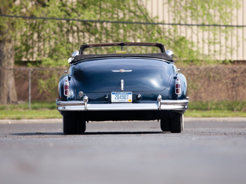 1947 Cadillac Sixty Two Convertible 6267 retro luxury   f wallpaper