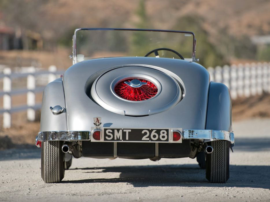 1948 Allard K-1 Roadster retro supercar  h wallpaper