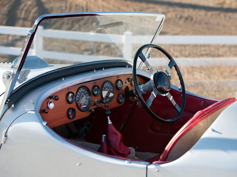 1948 Allard K-1 Roadster retro supercar interior      g wallpaper