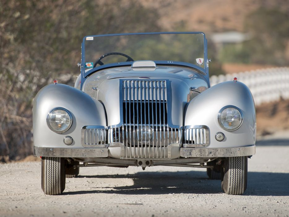 1948 Allard K-1 Roadster retro supercar  f wallpaper