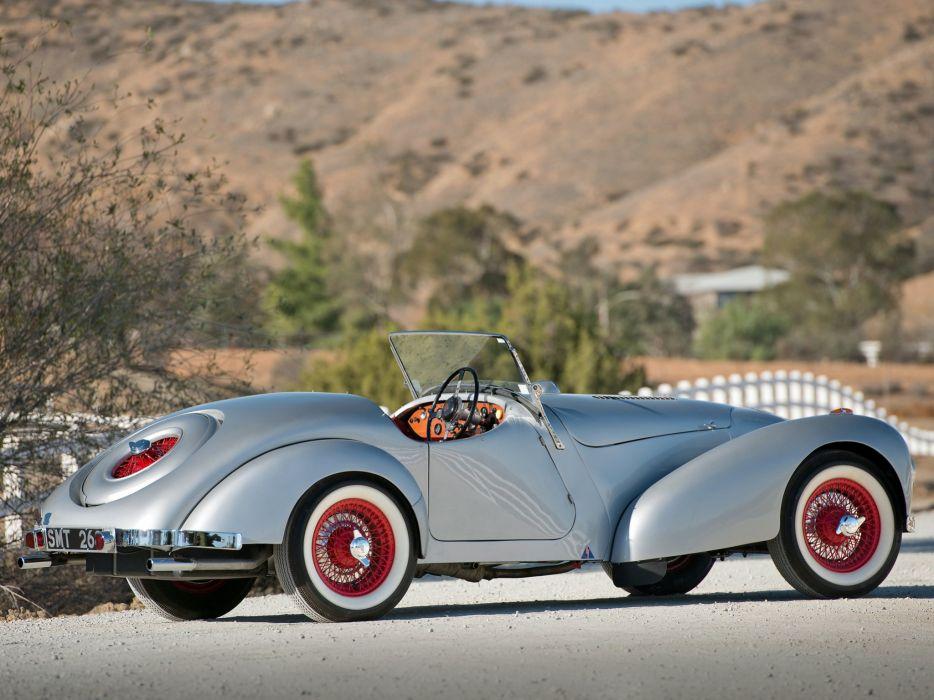 1948 Allard K-1 Roadster retro supercar   f wallpaper
