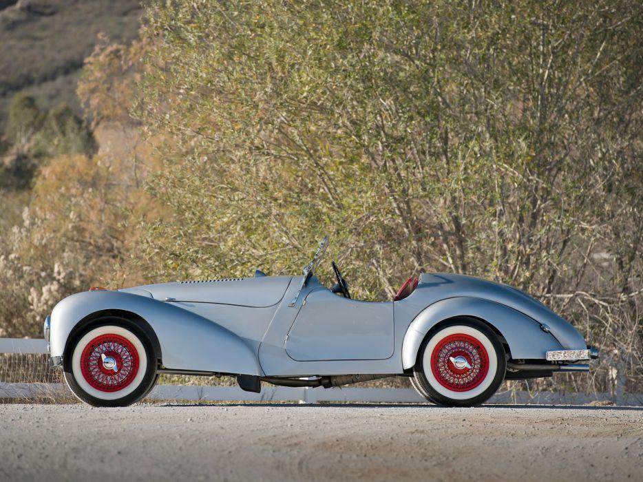 1948 Allard K-1 Roadster retro supercar   fd wallpaper
