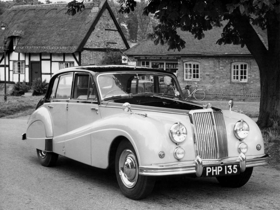 1953 Armstrong Siddeley Sapphire 346 6 Light Saloon luxury retro     f wallpaper