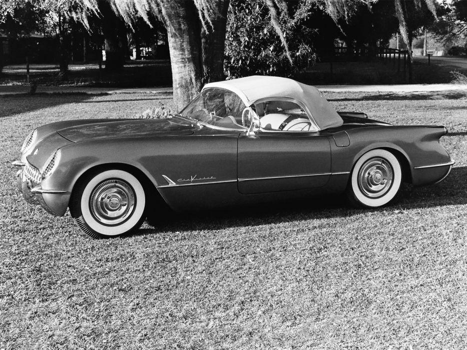 1955 Chevrolet Corvette C-1 (2934) supercar muscle retro   g wallpaper