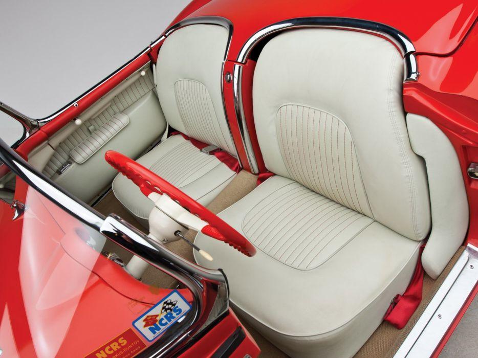 1955 Chevrolet Corvette C-1 (2934) supercar muscle retro interior   f wallpaper