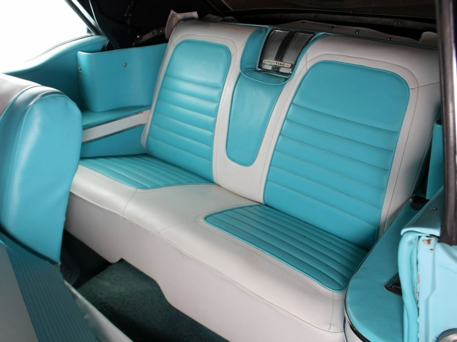 1958 Pontiac Parisienne Convertible luxury retro interior  d wallpaper