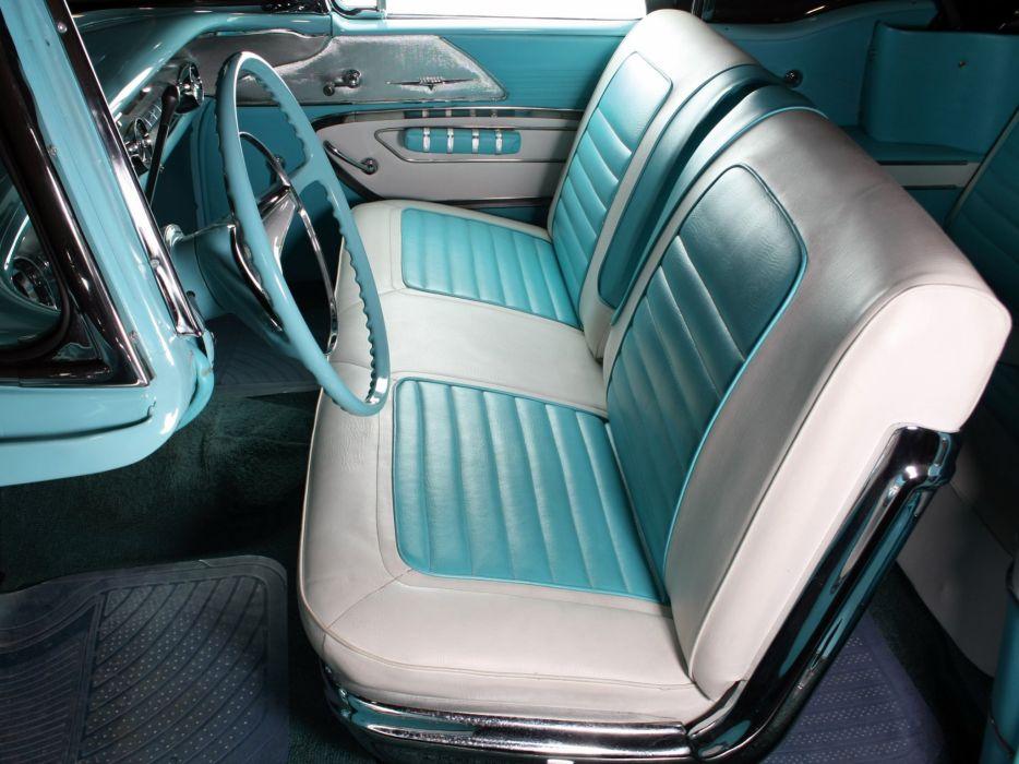 1958 Pontiac Parisienne Convertible luxury retro interior     g wallpaper