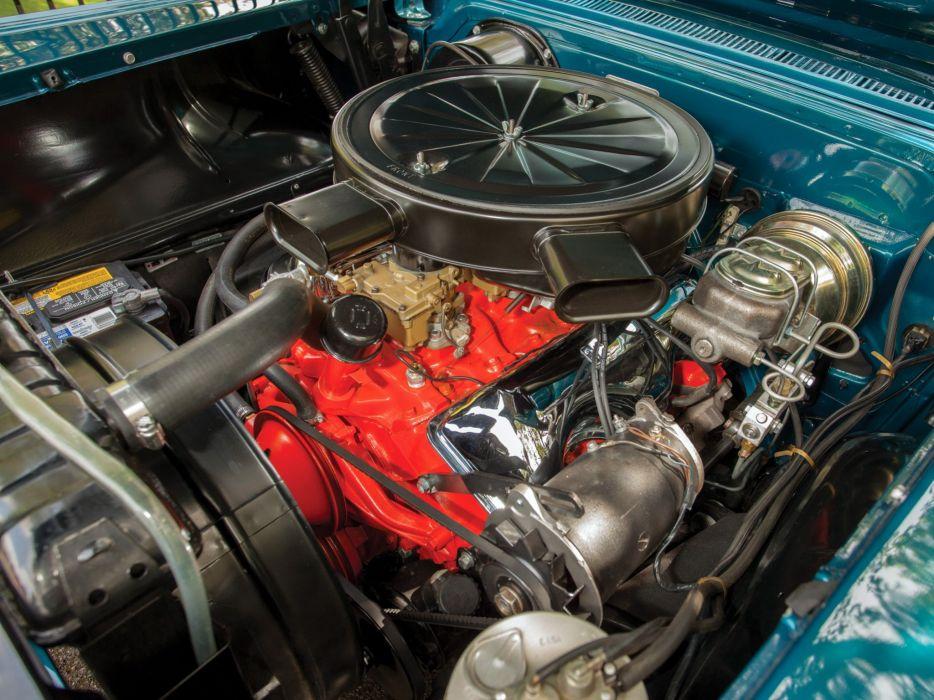 1958 Pontiac Parisienne Convertible luxury retro engine     f wallpaper