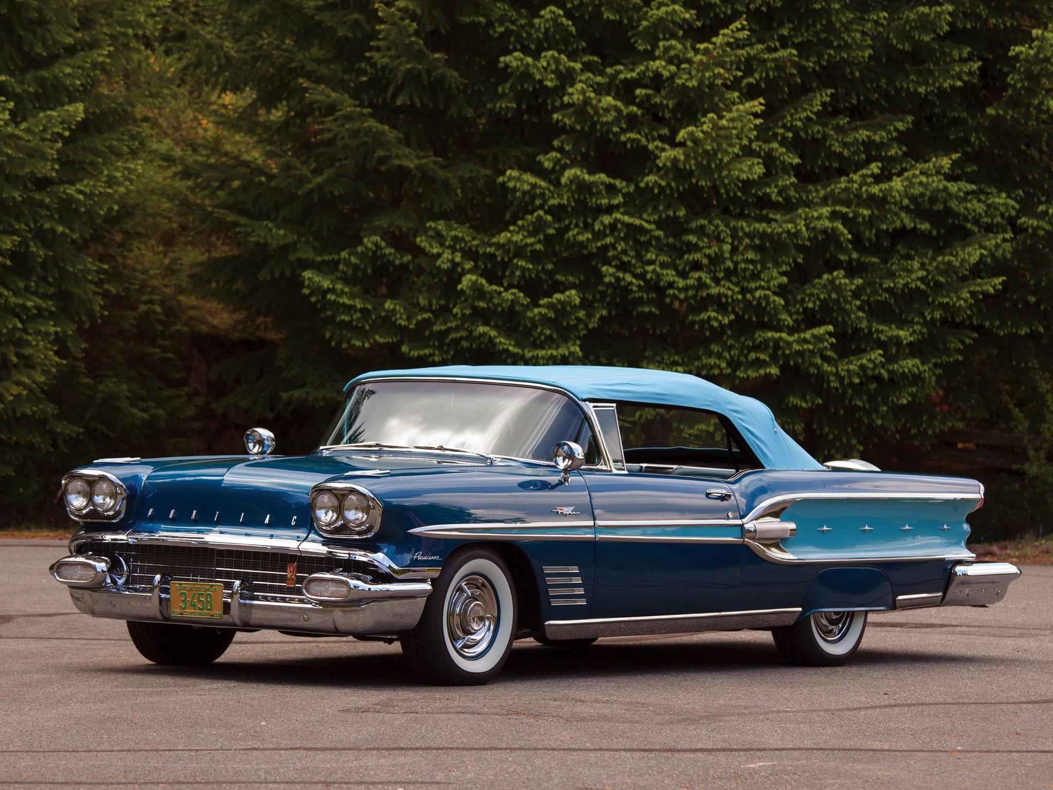 1958 Pontiac Wiring Diagram Library Classic Car Headlight Parisienne Convertible Luxury Retro T Wallpaper 2048x1536 244961 Wallpaperup