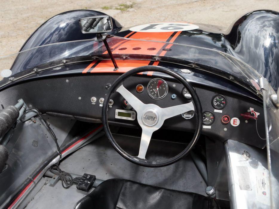 1959 Cooper T49 Rally race racing retro interior      g wallpaper