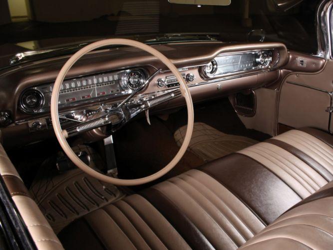 1960 Oldsmobile 9-8 2-door Holiday Hardtop (3837) luxury muscle classic interior h wallpaper