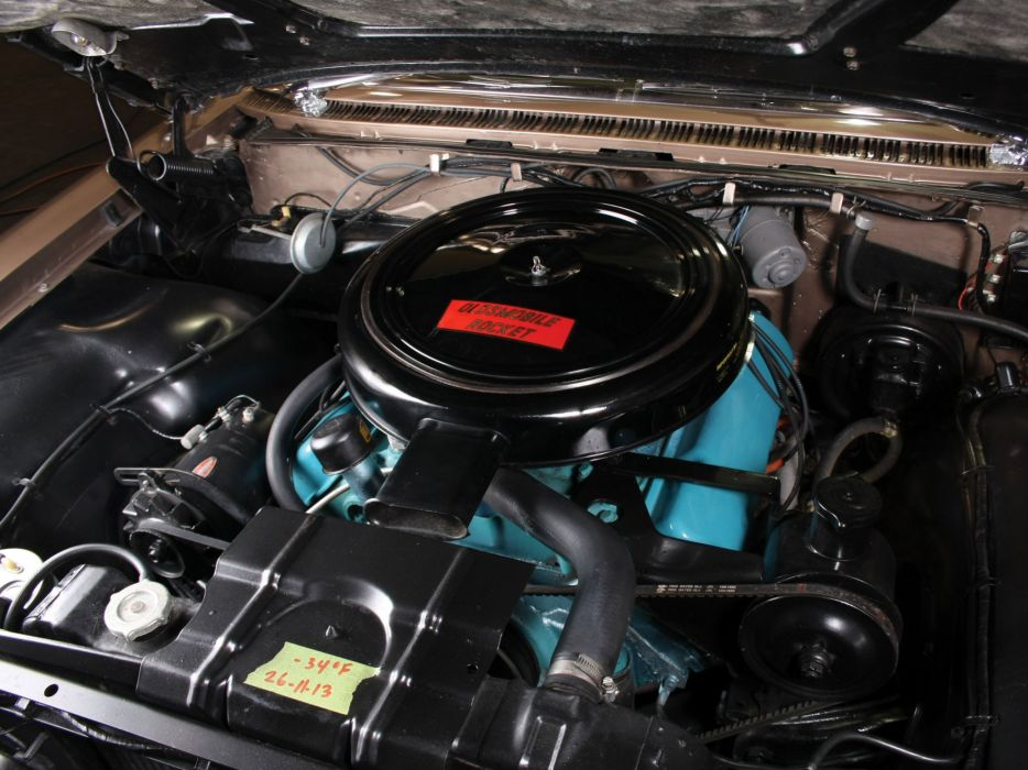 1960 Oldsmobile 9-8 2-door Holiday Hardtop (3837) luxury muscle classic engine    g wallpaper