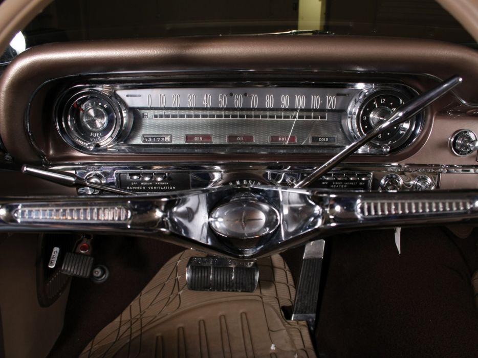 1960 Oldsmobile 9-8 2-door Holiday Hardtop (3837) luxury muscle classic interior  g wallpaper