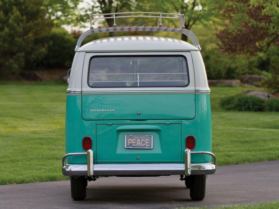 1963-67 Volkswagen T-1 Deluxe Bus van classic  j wallpaper