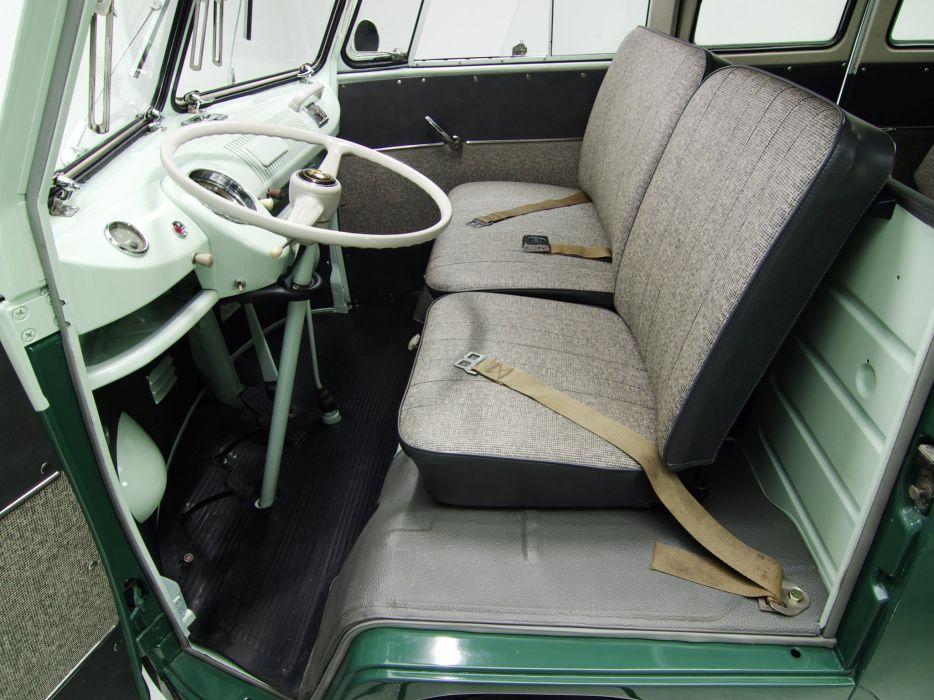 1963-67 Volkswagen T-1 Deluxe Bus van classic interior  g wallpaper