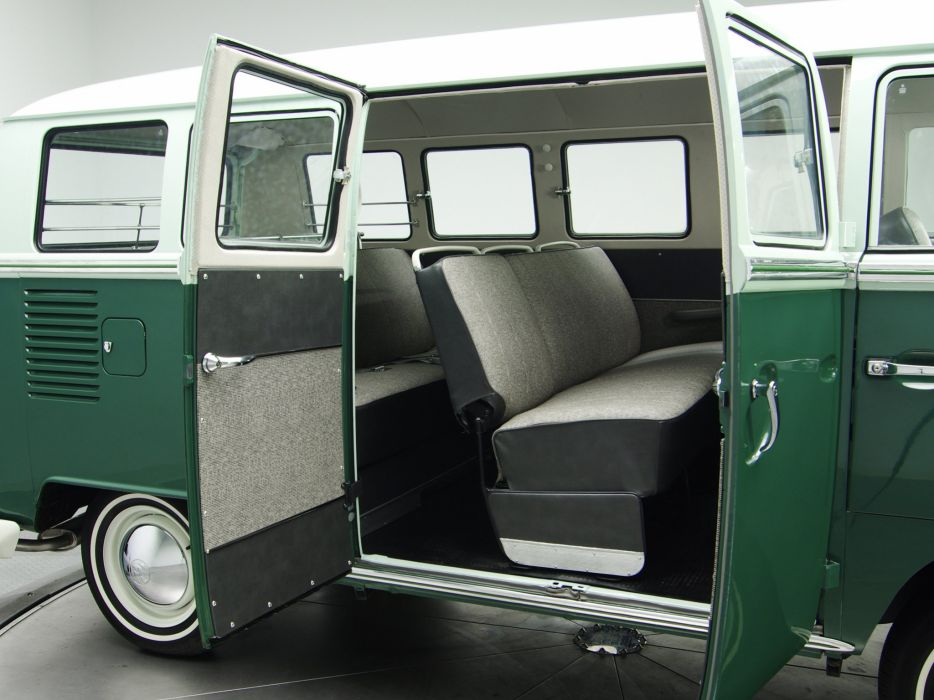 1963-67 Volkswagen T-1 Deluxe Bus van classic interior  gd wallpaper