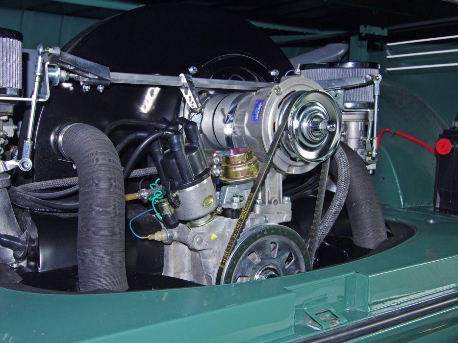 1963-67 Volkswagen T-1 Deluxe Bus van classic engine    f wallpaper