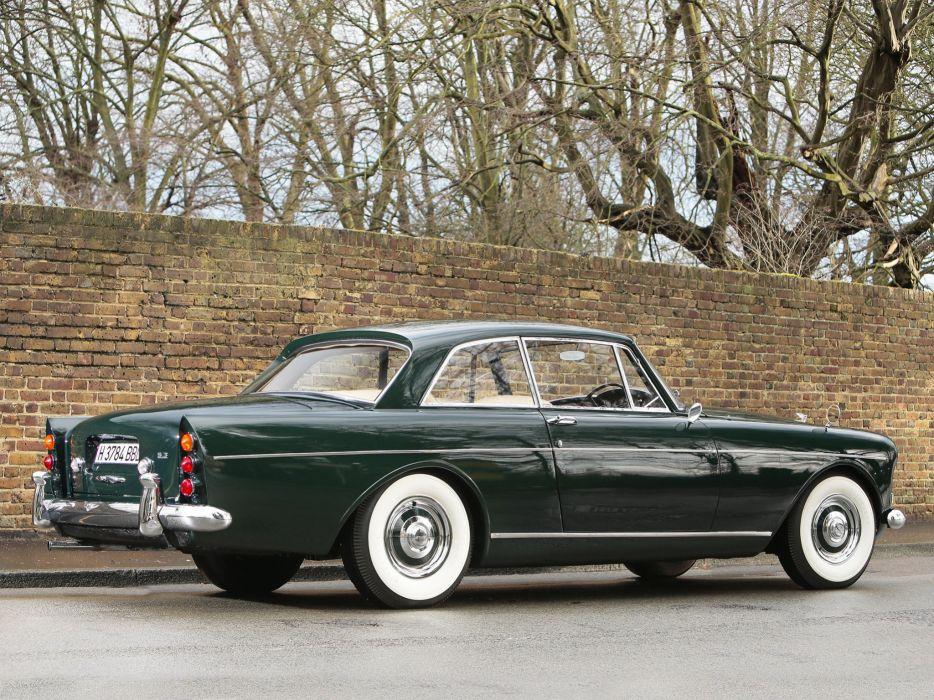 1964 Bentley S-3 Continental Coupe Mulliner Park Ward UK-spec luxury classic   f wallpaper