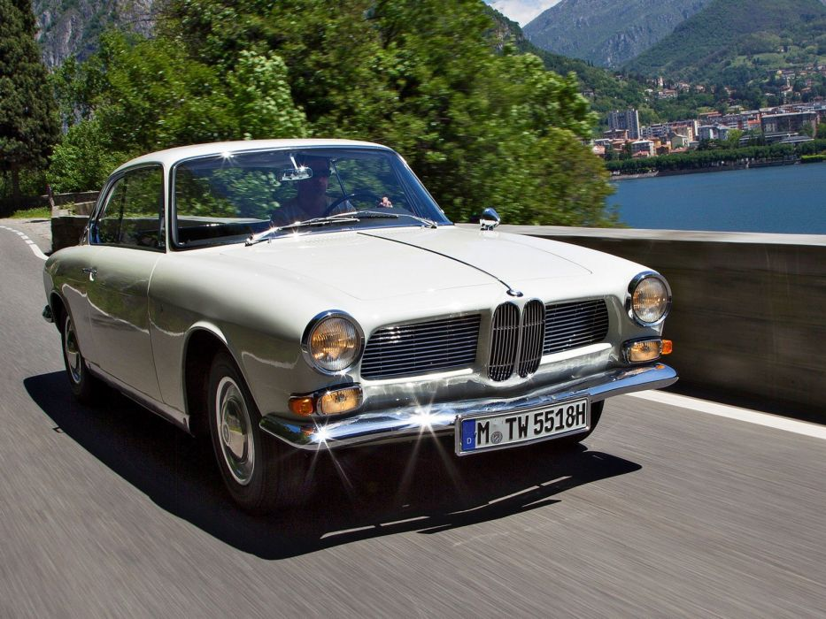 1965 BMW 3200 C-S Coupe classic r wallpaper