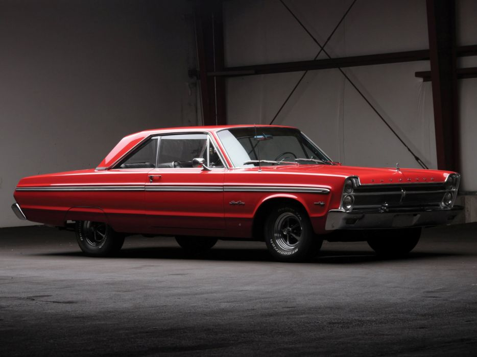 1965 Plymouth Sport Fury Hardtop Coupe (P42) muscle classic    g wallpaper