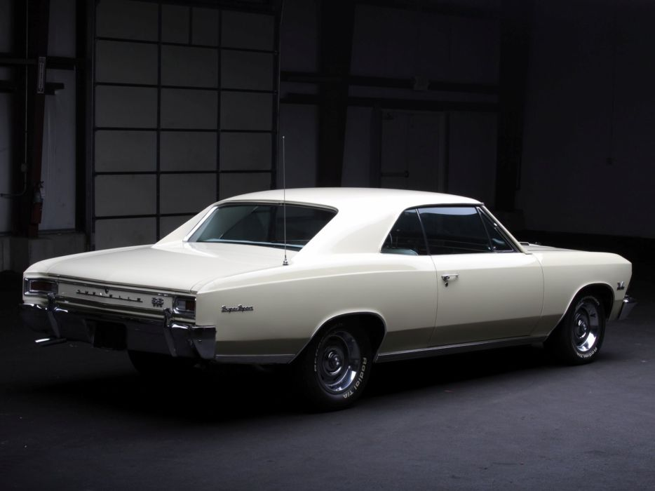 1966 Chevrolet Chevelle S-S 396 Hardtop Coupe muscle classic  t wallpaper