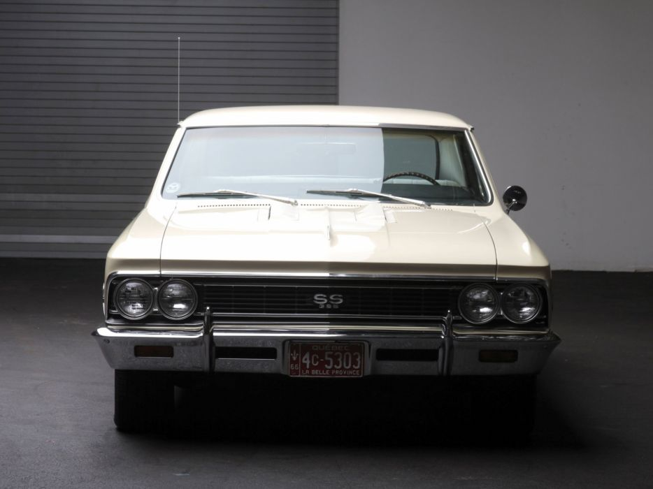 1966 Chevrolet Chevelle S-S 396 Hardtop Coupe muscle classic y wallpaper