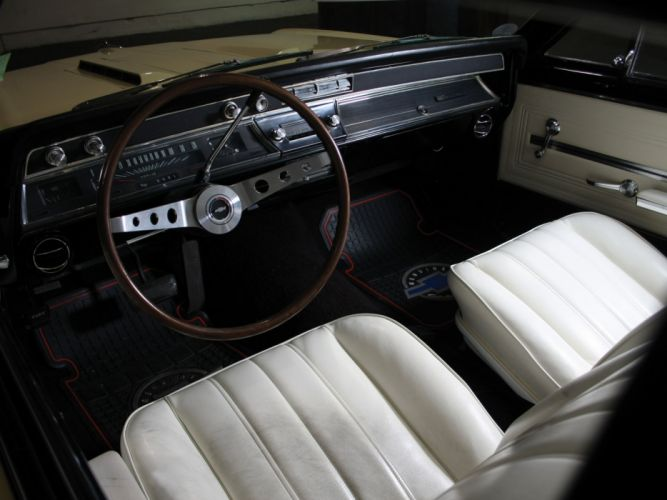1966 Chevrolet Chevelle S-S 396 Hardtop Coupe muscle classic interior h wallpaper