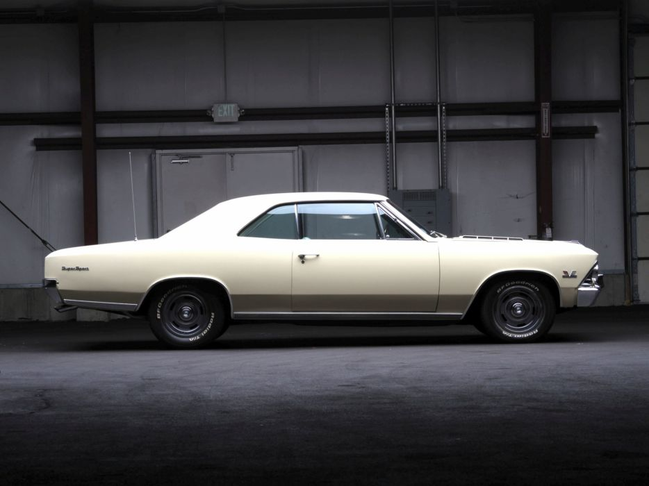 1966 Chevrolet Chevelle S-S 396 Hardtop Coupe muscle classic       g wallpaper