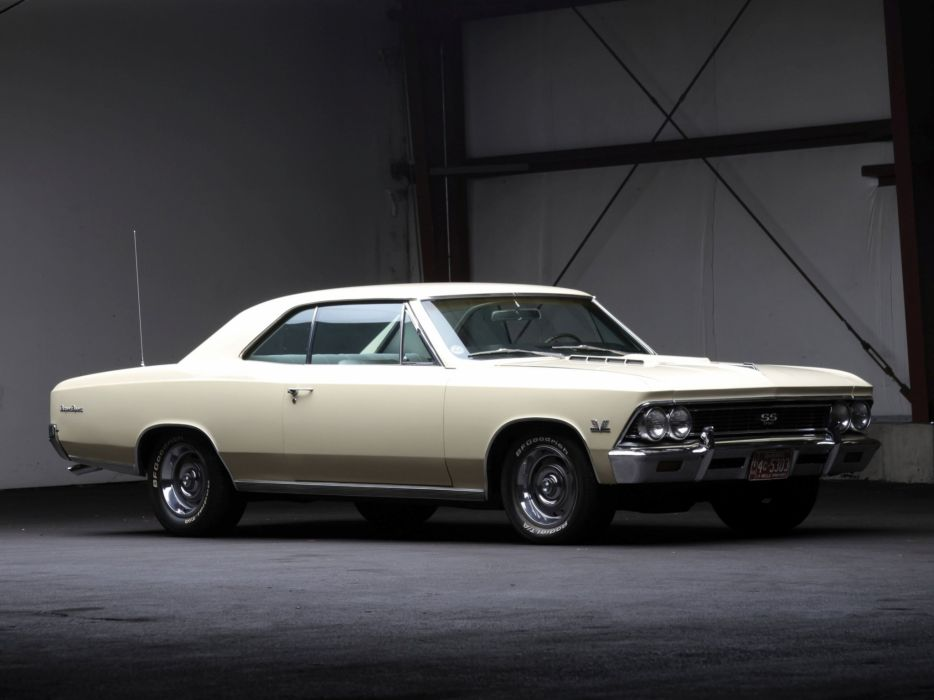 1966 Chevrolet Chevelle S-S 396 Hardtop Coupe muscle classic  h wallpaper
