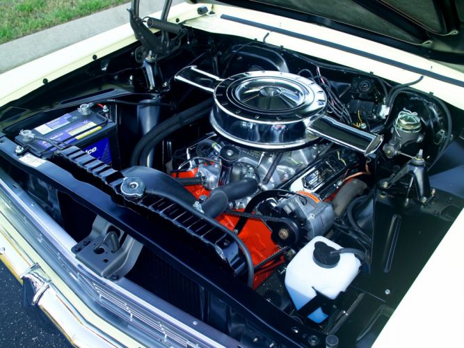 1966 Chevrolet Chevy I-I Nova S-S Hardtop Coupe (11737-11837) muscle classic engine gs wallpaper