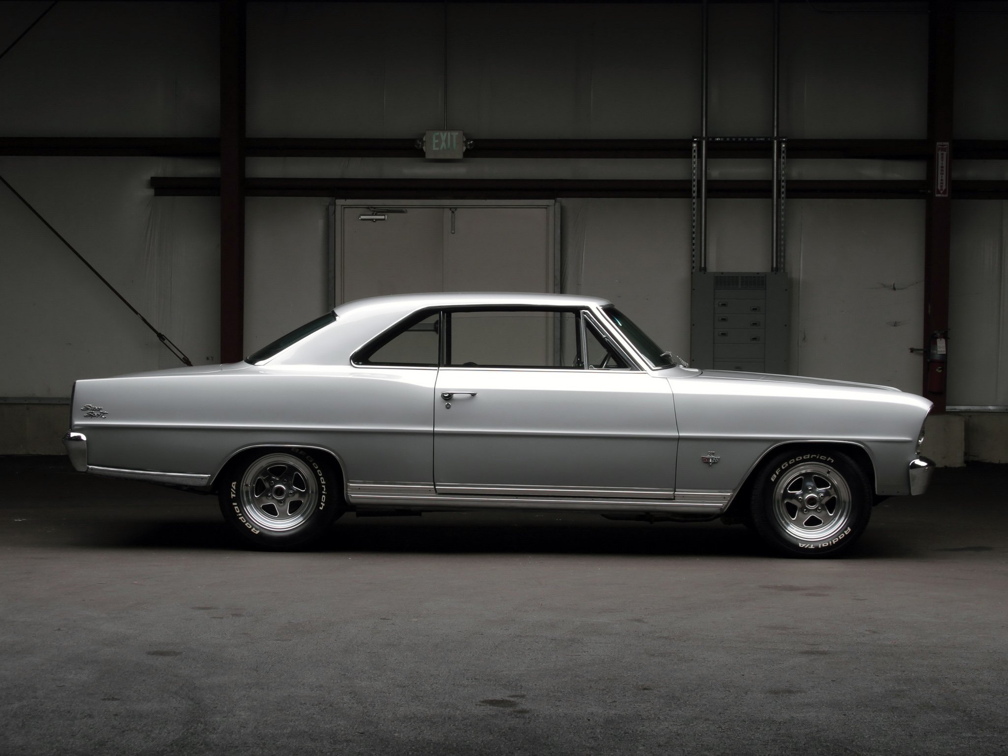 1966 Chevrolet Chevy I Nova S Hardtop Coupe 11737 11837 Muscle Ii Classic Hot Rod Rods G Wallpaper 2048x1536 245066 Wallpaperup