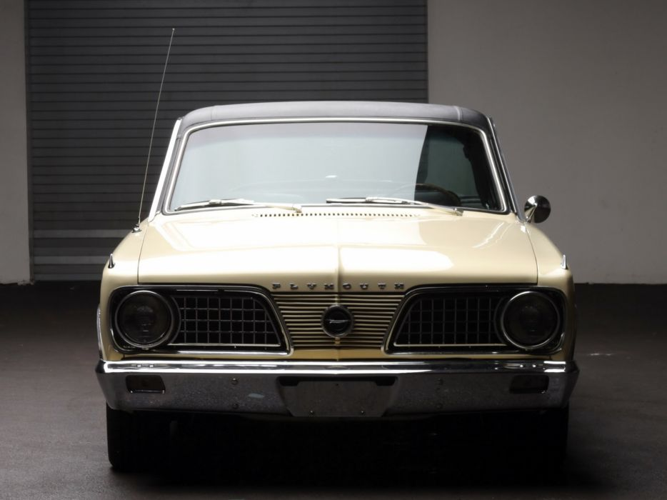 1966 Plymouth Barracuda Fastback Hardtop (BP29) muscle classic f wallpaper