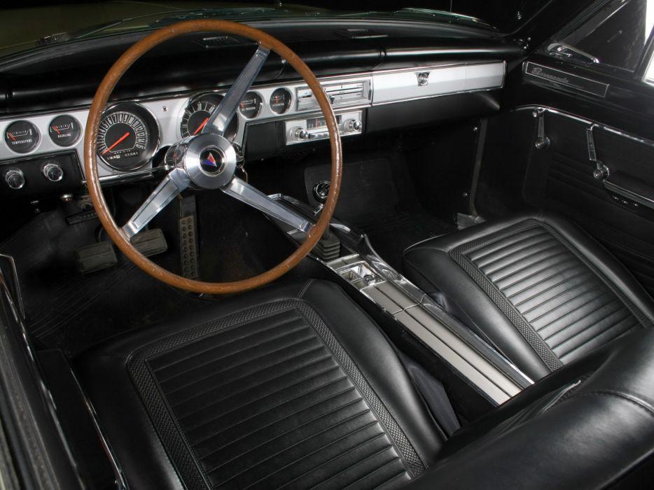 1966 Plymouth Barracuda Fastback Hardtop (BP29) muscle classic interior     g wallpaper